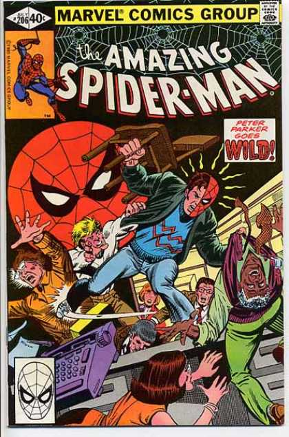 Amazing Spider-Man 206 - Peter Parker - Chair - Rick Parker