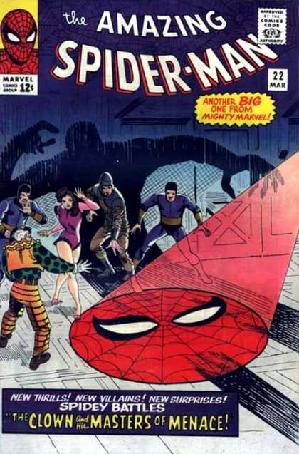 Amazing Spider-Man 22 - Clown - Spidey Battles - Masters Of Menace - Shadow