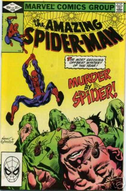 Amazing Spider-Man 228 - Arachnophobia - Mixed Feelings For Spiders - The Lonely Black Widows - Spider Mans Family Reunion - The Most Powerful Enemy - Josef Rubinstein, Rick Parker