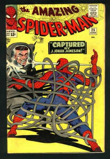 Amazing Spider-Man 25 - Captured - J Jonah Hameson - 25 June - Amazing - Gray Suit