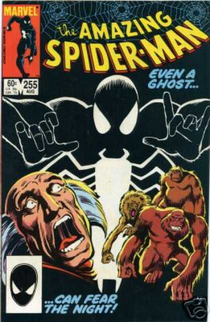 Amazing Spider-Man 255 - Maevel - 255 Aug - Ghost - Mask - Can Fear The Night - Josef Rubinstein