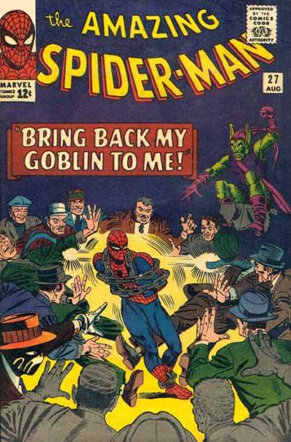 Amazing Spider-Man 27 - Goblin - Chains - Chain - Mans - Hands