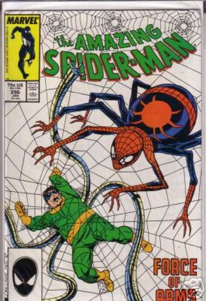 Amazing Spider-Man 296 - Web - Doctor Octopus - Octopus - Spiderman - Spider Web - John Byrne