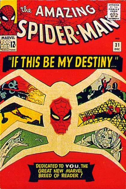 Amazing Spider-Man 31 - Destiny - Marvel - Reader - Dedicated - Firing