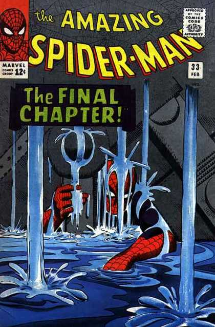 Amazing Spider-Man 33 - Water - Final Chapter - Spiderman
