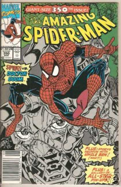 Amazing Spider-Man 350 - Doctor Doom - Web - Superhero - Marvel Comics - Spiderweb - Erik Larsen