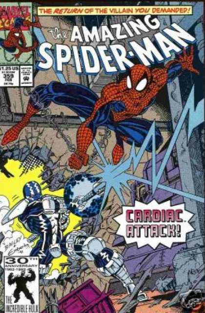 Amazing Spider-Man 359 - Mark Bagley