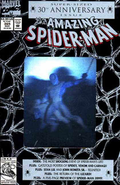Amazing Spider-Man 365 - Web - Marvel Comics - Super-sized 30th Anniversary Issue - Approved By The Comics Code - Stan Lee - Mark Bagley