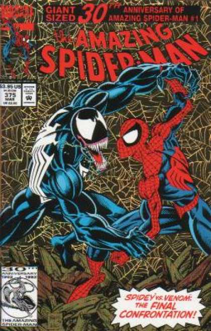 Amazing Spider-Man 375 - Venom - Web - Mark Bagley