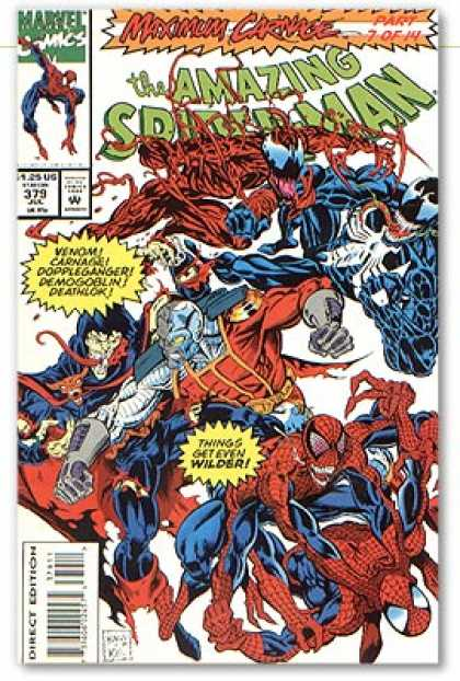 Amazing Spider-Man 379 - Venom - Carnage - Mark Bagley
