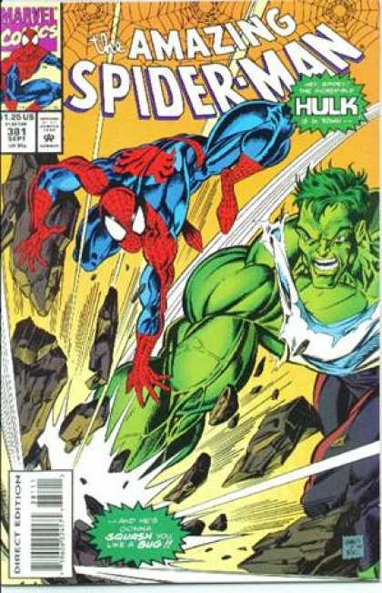 Amazing Spider-Man 381 - Hulk - Mark Bagley