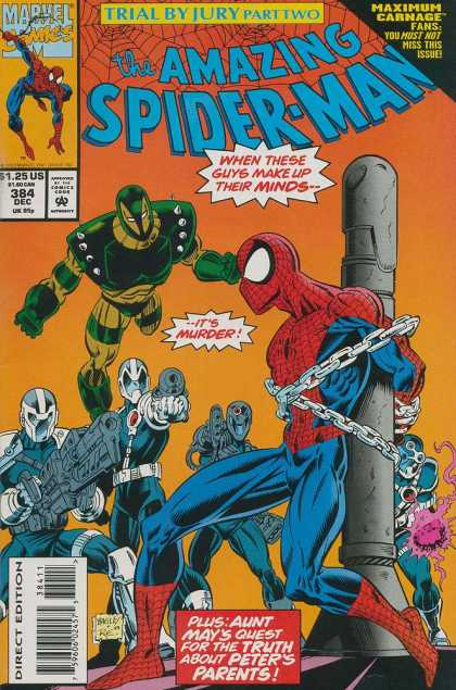 Amazing Spider-Man 384 - Mark Bagley