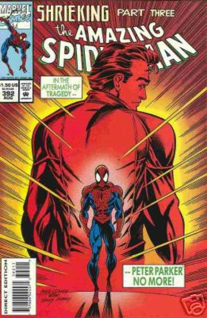 Amazing Spider-Man 392 - Parker - Tragedy - Peter Parker - Mark Bagley