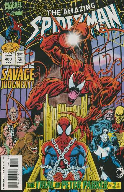 Amazing Spider-Man 403 - Mark Bagley