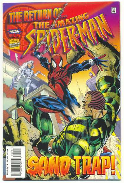 Amazing Spider-Man 407 - Sandman - Mark Bagley