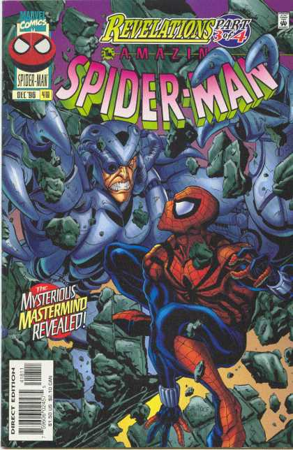 Amazing Spider-Man 418 - Rubble - Mastermind - Bud LaRosa