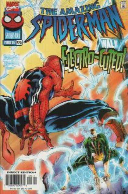 Amazing Spider-Man 423 - Electro - Spiderman