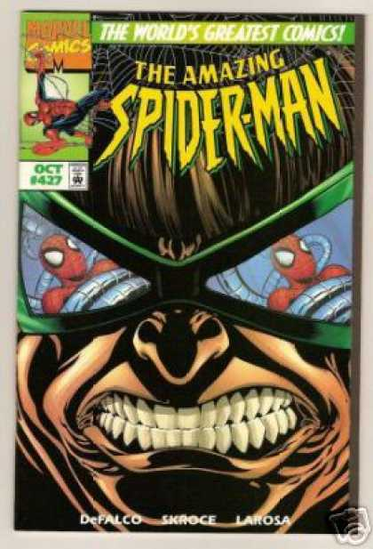 Amazing Spider-Man 427 - Doctor Octopus - Glasses - Bud LaRosa
