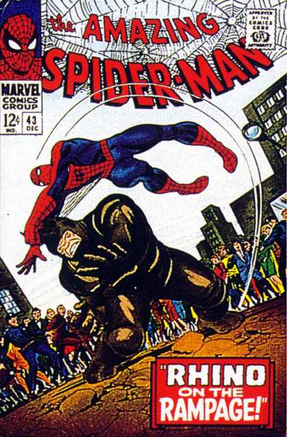 Amazing Spider-Man 43 - Rhino