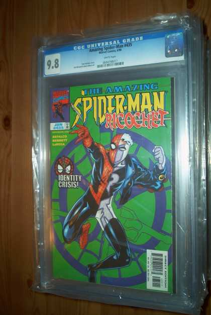 Amazing Spider-Man 435 - Spiderman - Marvel - Marvel Comics - Ricoshet - Amazing - Bud LaRosa