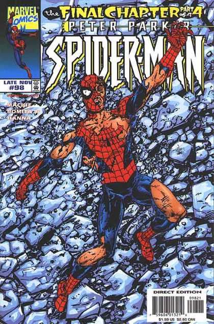 Amazing Spider-Man 441 - Peter Parker - Final Chapter - Rubble