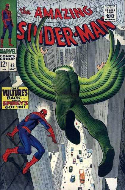 Amazing Spider-Man 48 - Vulture - City - Spidey - Skyscraper - Marvel