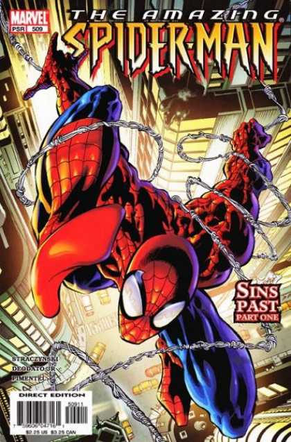 Amazing Spider-Man 509 - Sins Past - Web - Sins Past Part One - New York City - Buildings - Deodato Fiho