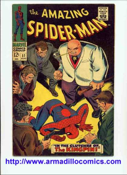 Amazing Spider-Man 51 - Kingpin - Spiderman - Gun - Thugs