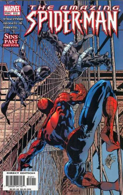 Amazing Spider-Man 512 - Bridge - Cables - Web - Sinister - Part Four - Deodato Fiho