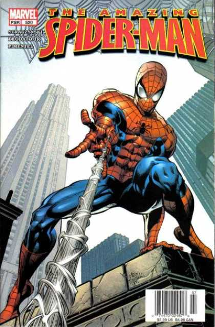 Amazing Spider-Man 520 - City - Web - Skyscrapers - Spidey - Spiderman - Deodato Fiho