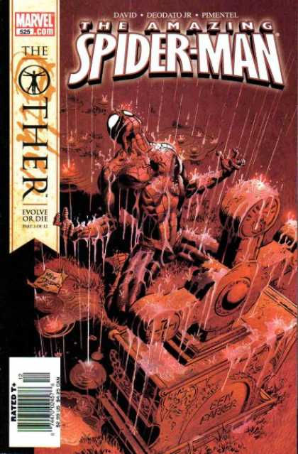 Amazing Spider-Man 525 - Struggle - Pain - Spiderman Life Upside Down - Suffering - Blood Death - Deodato Fiho