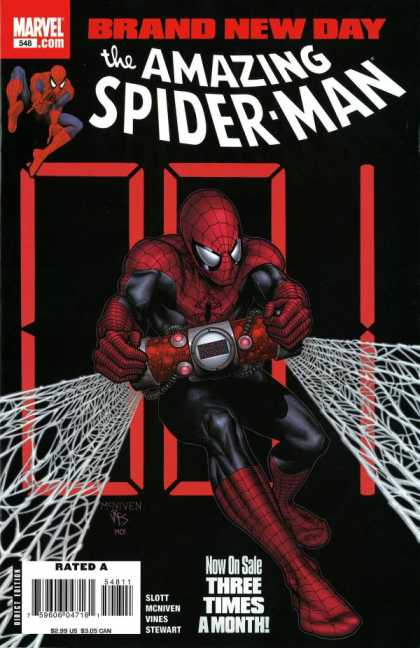 Amazing Spider-Man 548 - Morry Hollowell, Steve McNiven