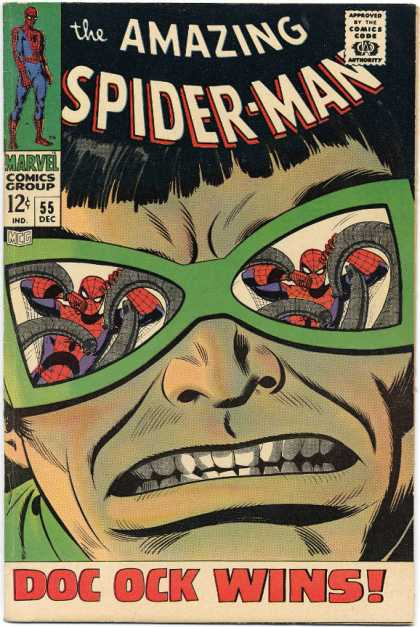 Amazing Spider-Man 55 - Doctor Octopus - Tentacles - Ock - Doc - Spider-man