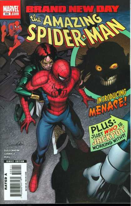Amazing Spider-Man 550 - Salvador Larroca, Stephane Peru