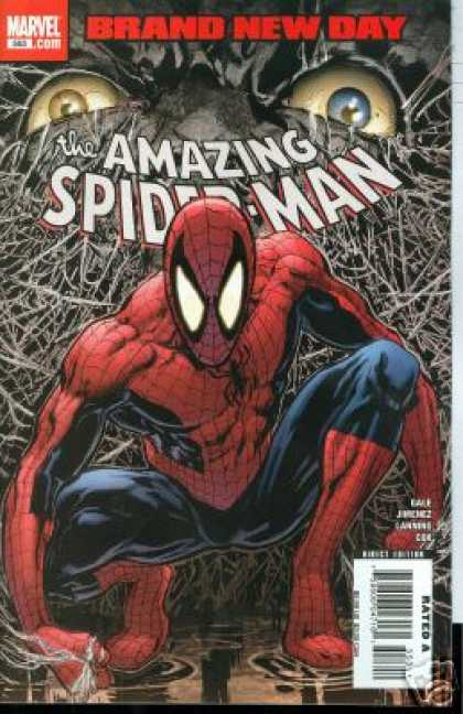 Amazing Spider-Man 553 - Phil Jimenez