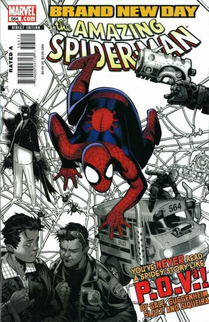 Amazing Spider-Man 564 - Chris Bachalo