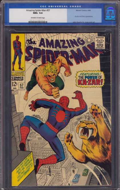 Amazing Spider-Man 57 - Spiderman - Ka-zar