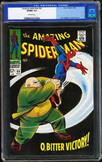 Amazing Spider-Man 60 - Kingpin - Victory - Spiderman - Approved By The Comics Code - Superhero