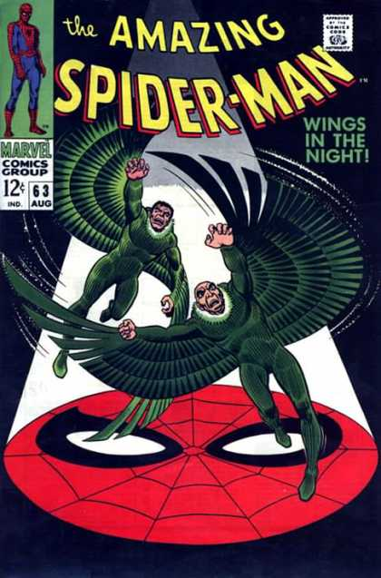 Amazing Spider-Man 63 - Wings - Vulture