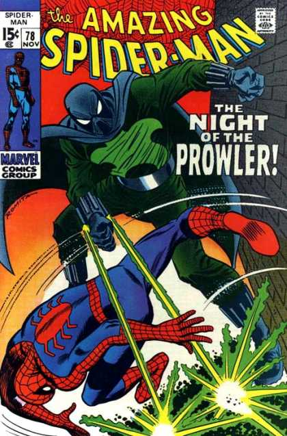 Amazing Spider-Man 78 - Prowler
