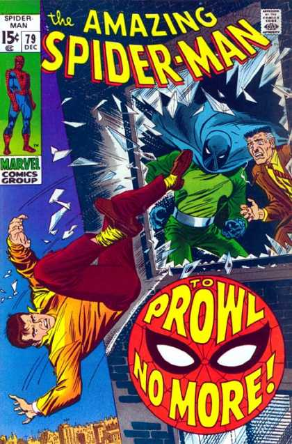 Amazing Spider-Man 79 - Prowler - Glass - Jameson