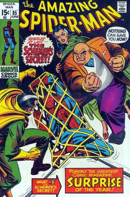 Amazing Spider-Man 85 - Fat Man - Surprise - Schemer - Secret - Net