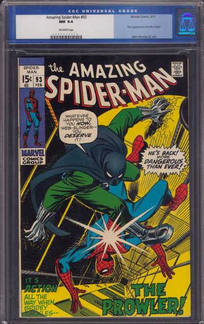Amazing Spider-Man 93 - Prowler - Kick - The Amazing Spider-man - The Prowler - Mine Shaft