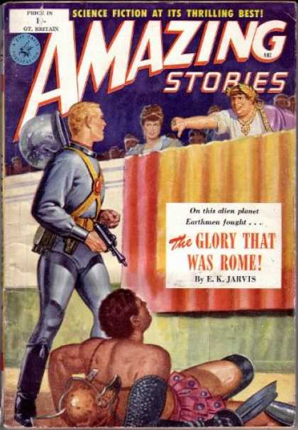 Amazing Stories (UK) - 7/1952