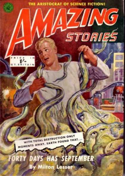Amazing Stories (UK) - 8/1953