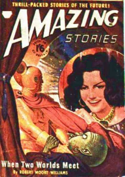 Amazing Stories (UK) - 6/1950