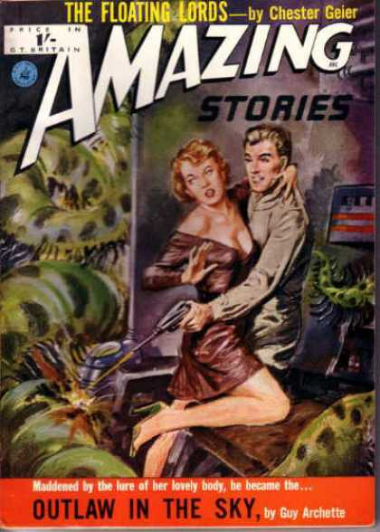 Amazing Stories (UK) - 9/1953