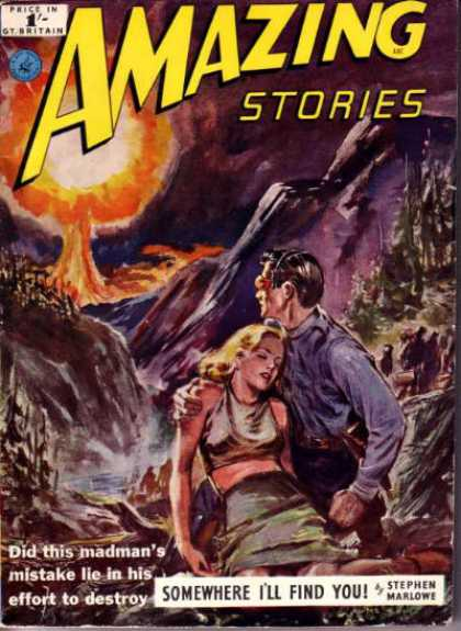 Amazing Stories (UK) - 11/1953