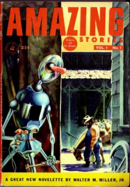 Amazing Stories (UK) - 12/1953