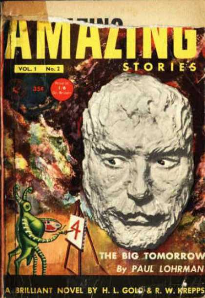 Amazing Stories (UK) - 2/1954